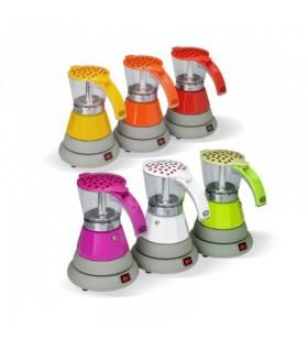 Gat iCoffee Show Elektrikli Kırmızı Moka Pot 4 Cup